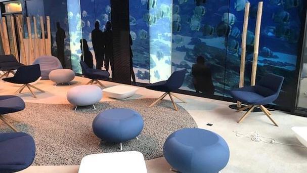 Du mobilier crée sur mesure pour les nouveaux locaux de Credipar