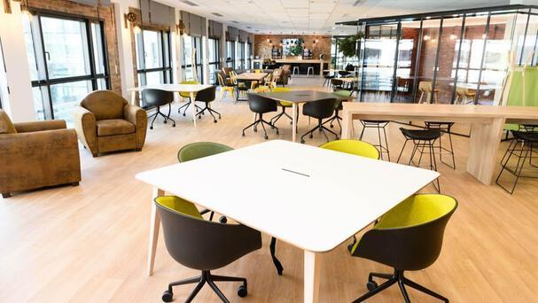 Aménagement des nouveaux espaces ouverts et collaboratifs