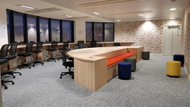 Des espaces de réunions informelles et de détente